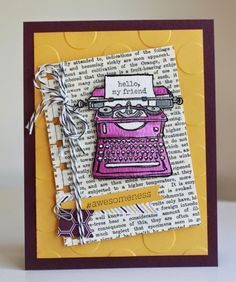 Little Bay Stampin': Social Media Challenge Reject
