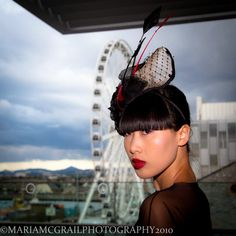 Pinned Image  Isabella Headpiece by the Fairground. Mes Petits Chapeaux Photography - Maria McGrail  Model - Yomiko Chen  MUA - Sarah Cullen