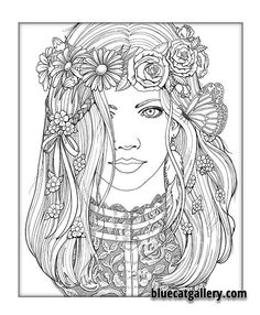 Color Me Beautiful Women Of The World Coloring Book Victorian Lace More FitnessFashion