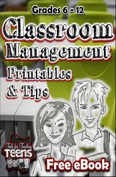 This free resource contains classroom management tips and printables from the Tools for Teaching Teens team over at Teachers Pay Teachers. We are a group of secondary teacher- authors with a combined total of over 50 years of classroom experience. In this resource, we share our best classroom management tips and offer resources that you can print and use in your classroom today.