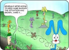 cute Happy Easter funny cartoons