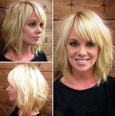 30+ Super Short Bob Hairstyles With Bangs   Bob Hairstyles 2015 - Short Hairstyles for Women