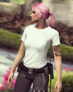 Joker Drawings, Girl Outfits, Female Outfits, Gta 5 Online, Aesthetic Themes, Life Is Strange, Grand Theft Auto, Game Character, Clothes For Women