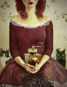 Coffee and Cats Marta Orlowska