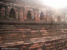 Universidade Nalanda Ruínas em Bihar, na Índia