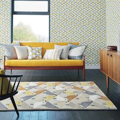Wool rug Lintu Dandelion 24405 Multicolor All rugs and home accessories from ONLOOM. room room # Designer furniture house home Source by onloomteppiche Dark Carpet, Modern Carpet, Modern Rugs, Childrens Rugs, Stain Remover Carpet, Carpet Stains, Bedroom Carpet, Living Room Inspiration, Edgy Style
