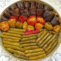 Image may contain: food Dinner Party Recipes, Snack Recipes, Cooking Recipes, Iftar, Turkish Recipes, Ethnic Recipes, Greek Dinners, Cafe Menu, Middle Eastern Recipes
