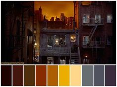Rear Window Director: Alfred Hitchcock Cinematography: Robert Burks Art Director: J. Movie Color Palette, Colour Pallette, Cinema Colours, Color In Film, Colour Consultant, Color Script, Cinematic Photography, Design Palette, Film Inspiration