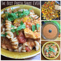 """This spaghetti sauce is SO amazingly flavor-packed--it tastes like a garden in a bowl! The """"secret ingredient"""" makes this the best pasta sauce ever!!"""