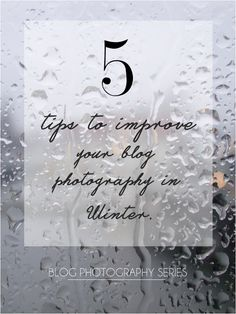 5 Tips To Improve Your Blog Photography in Winter | Makeup Savvy - makeup and beauty blog