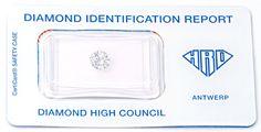 Foto 1, Diamant HRD, 0,781 Carat Top Wesselton Lupenrein Juwel!, D5629
