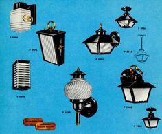 Great article on mid century outdoor lighting: http://retrorenovation.com/2009/06/28/41-midcentury-lighting-ideas-post-lanterns-lamp-posts-wall-lanterns-and-landscaping-lights/