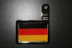 Autoplakette Deutschland Fahne für Kennzeichenhalterung Autos