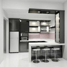 21+ Most Noticeable Black & White Kitchen Designs - apikhome.com
