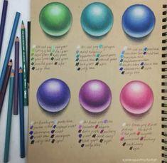 Colour Pencil Shading, Blending Colored Pencils, Colored Pencil Artwork, Color Pencil Art, Colored Pencil Tutorial, Colored Pencil Techniques, Colouring Techniques, Drawing Techniques, Farbstift Tutorial