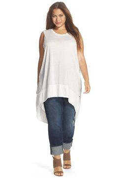 MELISSA+MCCARTHY+SEVEN7+Melissa+McCarthy+'Extreme'+Tunic+Tank+(Plus+Size)+available+at+#Nordstrom
