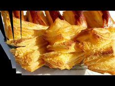 Новое слоёное тесто от АЛИСЫ .#PUFF PASTRY . - YouTube Dough Recipe, Yams, Camembert Cheese, Pineapple, Cooking Recipes, Bread, Make It Yourself, Baking, Fruit