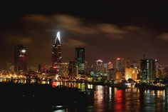 Ho Chi Minh City #flickr #night #vietnam