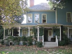 "The residence of Lorelai and Rory Gilmore -- 37 Maple Street, Stars Hollow, CT 06492 -- on the TV show ""Gilmore Girls."""