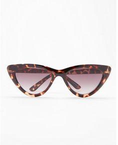 aab28367ecb6c3 Express tortoiseshell extreme cat eye sunglasses.afflink Lunettes, Écaille  De Tortue, Lunettes De