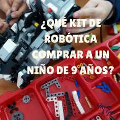 ¿Qué kit de robótica comprar a un niño de 9 años?