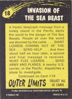 18 Invasion Of The Sea Beast