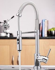 tre mercati kitchen > cappuccino kitchen tap with flexible spray. - taps4less.com