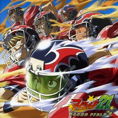 Eyeshield 21 ~~ American style football is rather different from a Japanese perspective. Terribly entertaining!