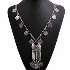 ~ Long Chain Tassel Necklace ~