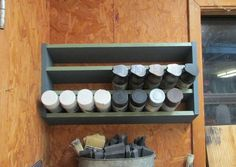 Shop Projects Archives - Page 7 of 12 - Wilker Do's Wood Storage, Diy Storage, Storage Ideas, Diy Shelving, Lumber Storage, Woodworking Projects Plans, Woodworking Shop, Spray Paint Storage, Workshop Storage