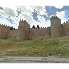 Town of Avila with its Extra-Muros Churches - A UNESCO World Heritage Site #ifit #nordictrack #treadmill #bike #elliptical #trail #castle view Google Streetview while you workout!
