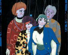 """Felice Casorati, """"Marionette"""""""