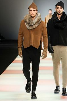 Emporio Armani Fall 2015 Menswear - Collection - Gallery - Style.com