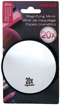Magnifying Mirror 20x With 2 Suction Cups 1 Each 1 Ct In 2020
