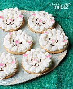 Biscuits au sucre Petits agneaux #recette
