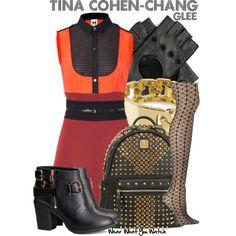 Inspired by Jenna Ushkowitz as Tina Cohen-Chang on Glee.