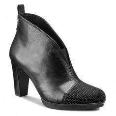 Magasított cipő HISPANITAS - Amberes HI63555 Black b8032b0088