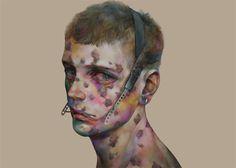 Works of Japanese artist 非(xhxix) http://xhxix.tumblr.com/