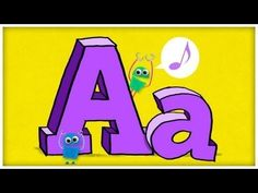 ABC Jamboree by StoryBots: ABC Jamboree features animated songs that cover every letter of the alphabet. From awesome A's to mighty M's, your child will learn the alphabet in no time as they sing along with the StoryBots. Kindergarten Songs, Preschool Songs, Preschool Letters, Learning Letters, Kindergarten Reading, Preschool Learning, Baby Learning Videos, Teaching Letter Sounds, Teaching The Alphabet