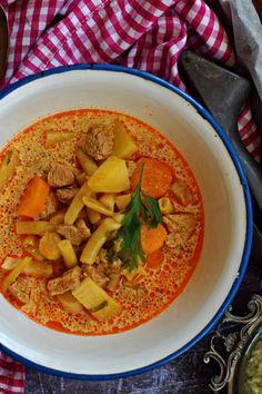 Kedvencünk, a palócleves Ketogenic Recipes, Diet Recipes, Cooking Recipes, Asian Recipes, Ethnic Recipes, Keto Results, Veggie Soup, Hungarian Recipes, Breakfast Time