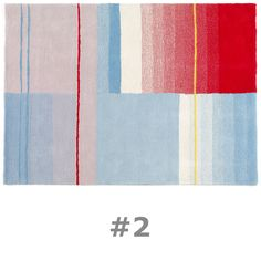 $1,450 - Hay & Scholten & Baijings' - Color Carpet Rug #2