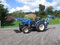 NEW HOLLAND TC40D TRACTOR 4WD New Holland, Equipment For Sale, Trucks For Sale, Tractors, Tractor
