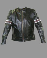 Vanson Leathers Inc. - Detail1 - BH - House Jacket - Mens - Vanson Leathers Inc.