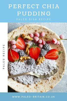 Perfect Chia Pudding  #Paleo #food #recipe #keto #diet #Chiapudding