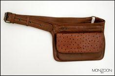 leather accesories  banano de cuero