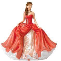 "Summer Gala  8.75"" H  Royal Doulton Figurine"