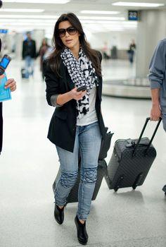 How to Wear Ankle Boots kim kardashian style