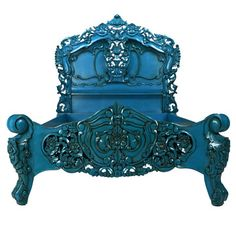 I would love this bed!  It would look outstanding in my teal bedroom!