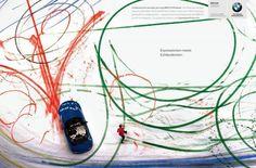 EXPRESSIONISM - BMW Roadster Print Ad