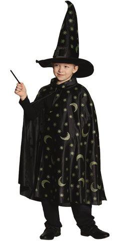 Cape de magicien enfant pour fille et garçon